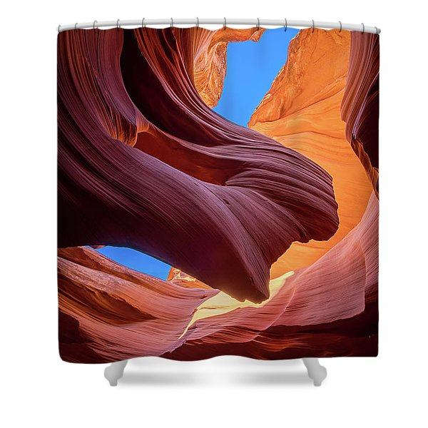Breeze Of Sandstone Shower Curtain