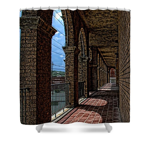 Breezway On The Baker Shower Curtain