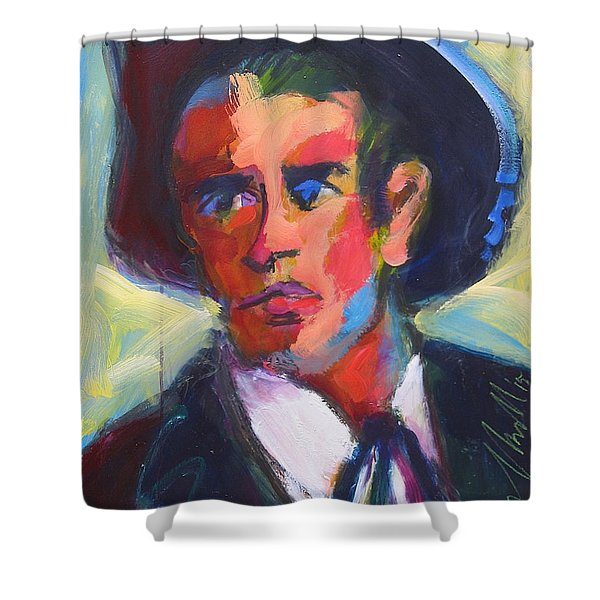 Bret Maverick Shower Curtain