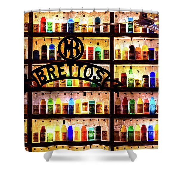 Brettos Bar In Athens, Greece - The Oldest Distillery In Athens Shower Curtain