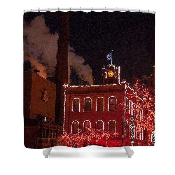 Brewery Lights Shower Curtain