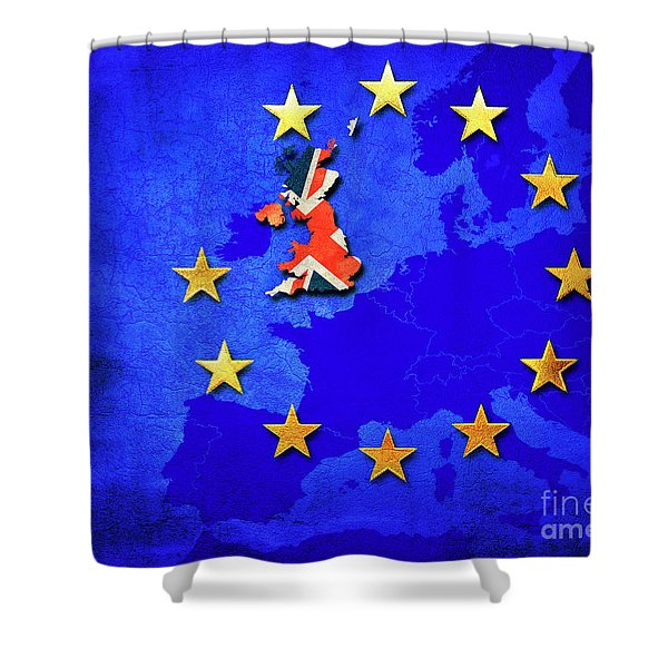 Brexit Shower Curtain
