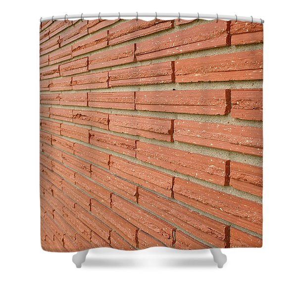Brick Wall 1 Shower Curtain