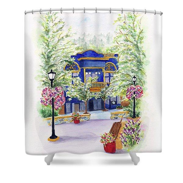Brickroom On The Plaza Shower Curtain