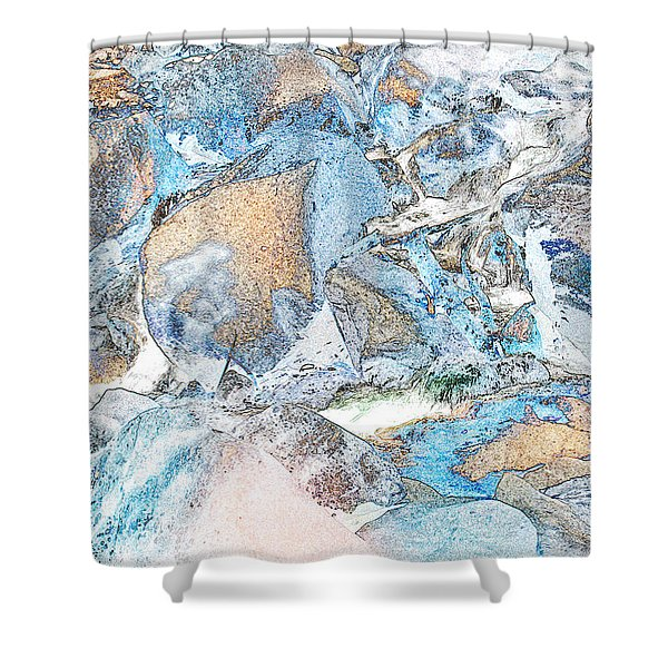 Bridal Veil Fall Shower Curtain