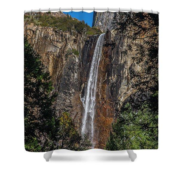 Bridal Veil Falls - My Original View Shower Curtain