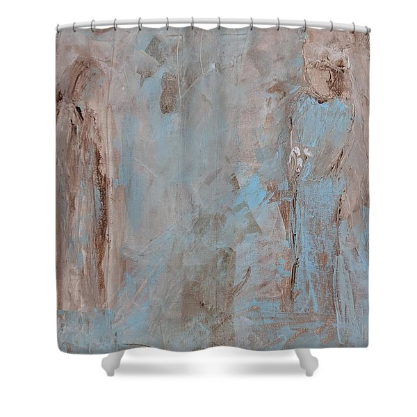 Bride Angel/ Blessed Mother Shower Curtain