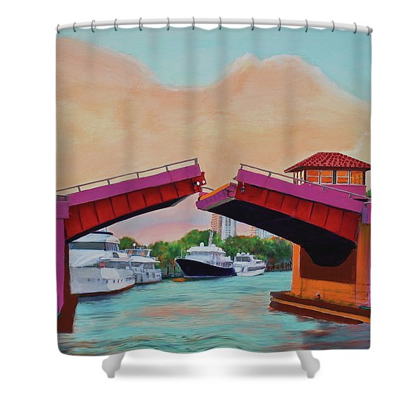 Bridge At Se 3rd Shower Curtain
