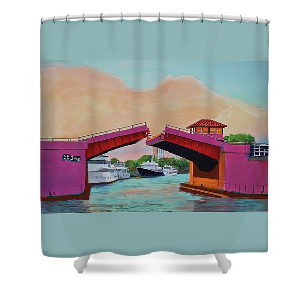 Bridge At Se 3rd Shower Curtain