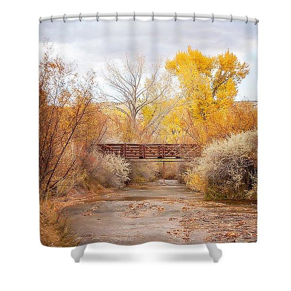 Bridge In Teasdale Shower Curtain