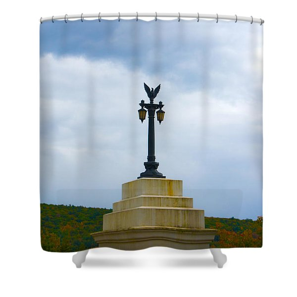 Bridge Lights Shower Curtain