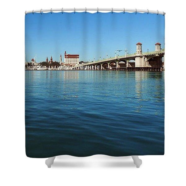 Bridge Of Lions, St. Augustine Shower Curtain