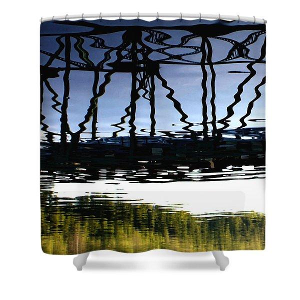 Bridge Over The Delaware Shower Curtain