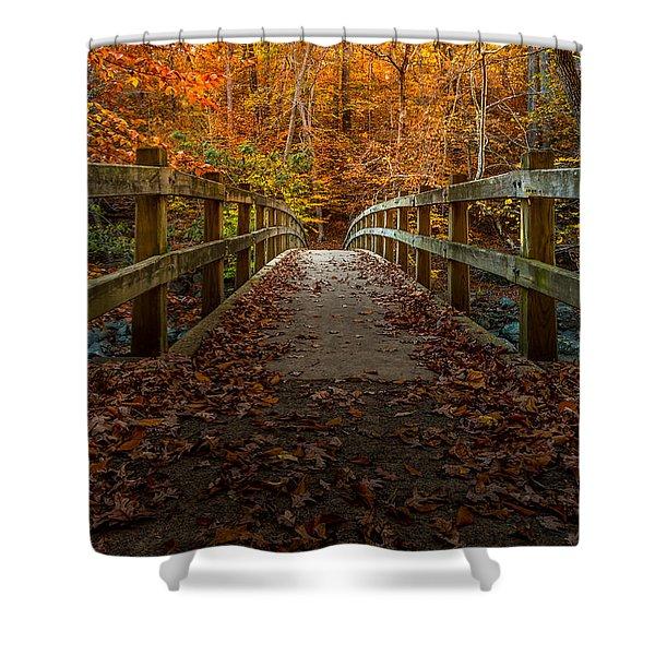 Bridge To Enlightenment 2 Shower Curtain