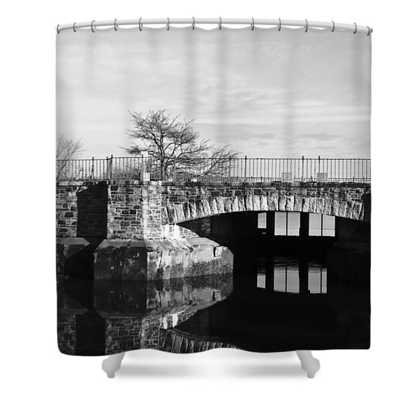 Bridge To Heaven Shower Curtain