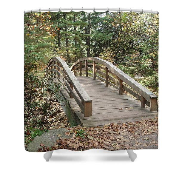 Bridge To New Discoveries Shower Curtain