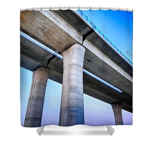 Bridge To The Heaven Shower Curtain