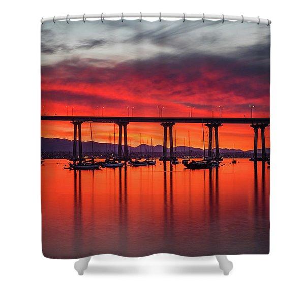 Bridgescape Shower Curtain