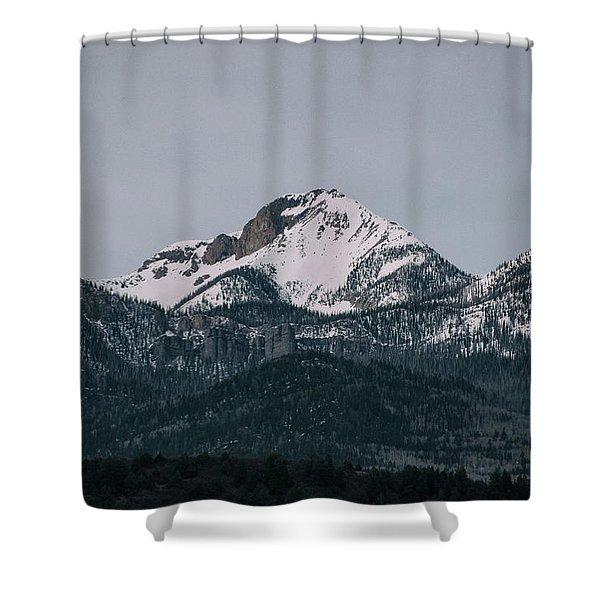 Shower Curtain featuring the photograph Brief Luminance by Jason Coward