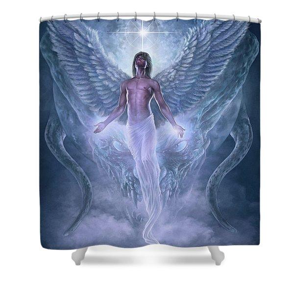 Bringer Of Light Shower Curtain