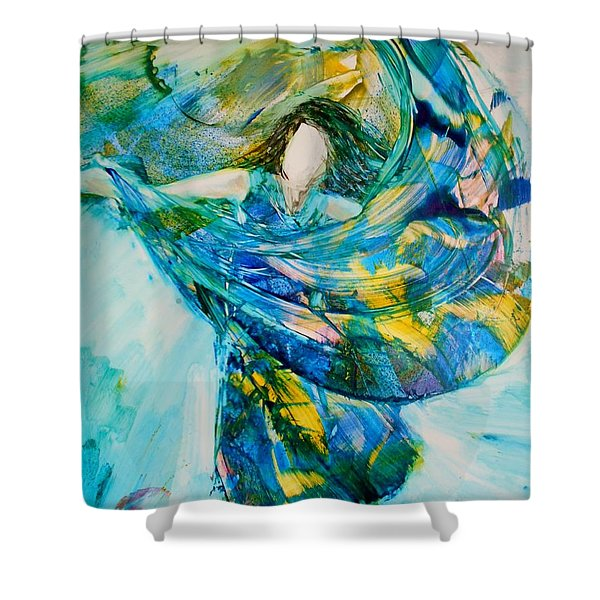 Bringing Heaven To Earth Shower Curtain