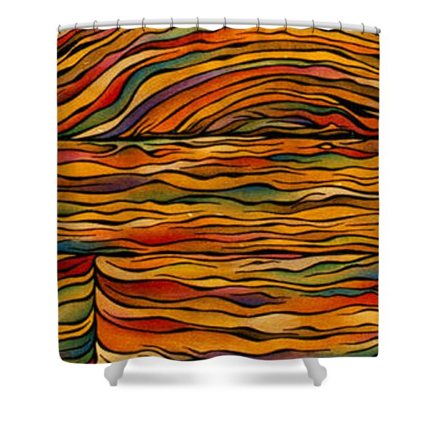 Bringing Out The Grain Shower Curtain