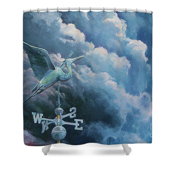Bringing The Storm Shower Curtain
