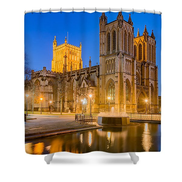 Bristol Cathedral Shower Curtain
