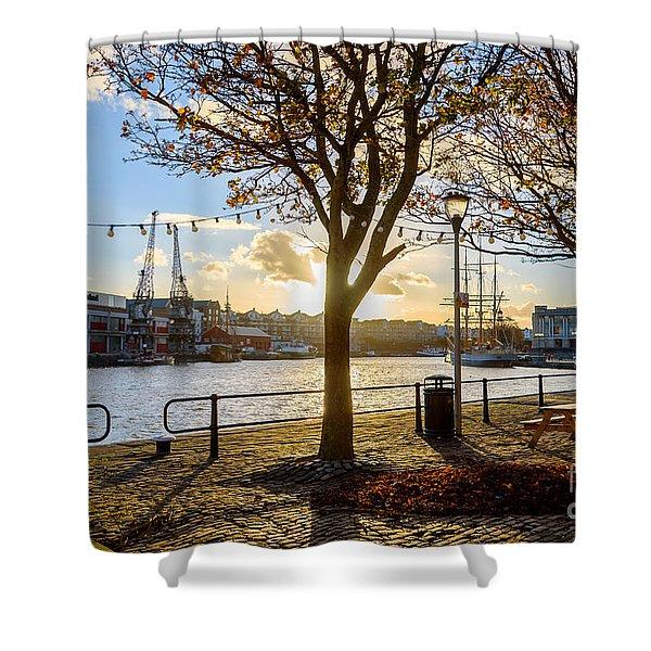 Bristol Harbour Shower Curtain