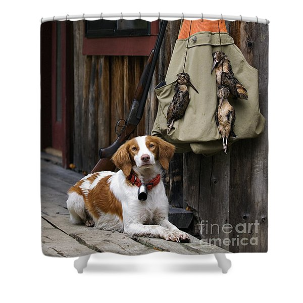 Brittany And Woodcock - D002308 Shower Curtain