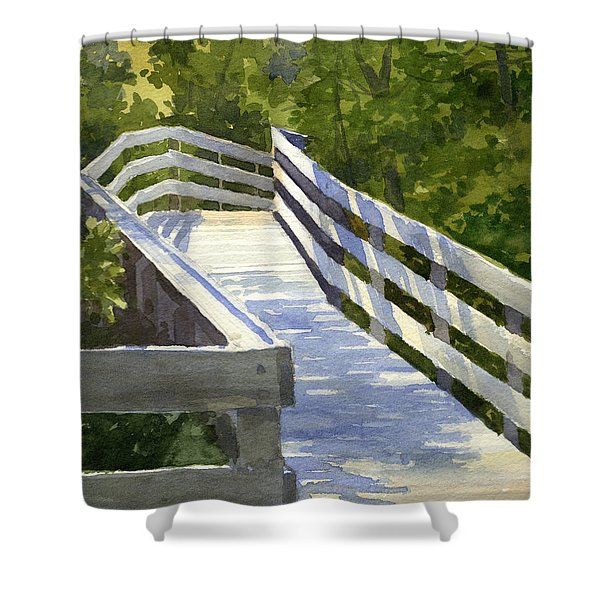 Boardwalk Shower Curtain