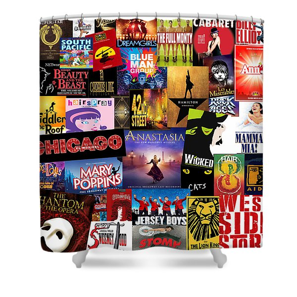 Broadway 14 Shower Curtain