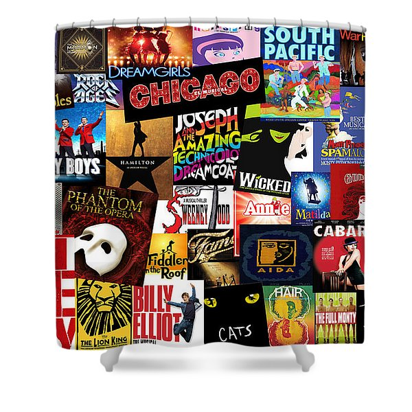 Broadway 3 Shower Curtain
