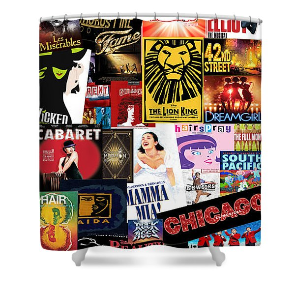 Broadway 9 Shower Curtain