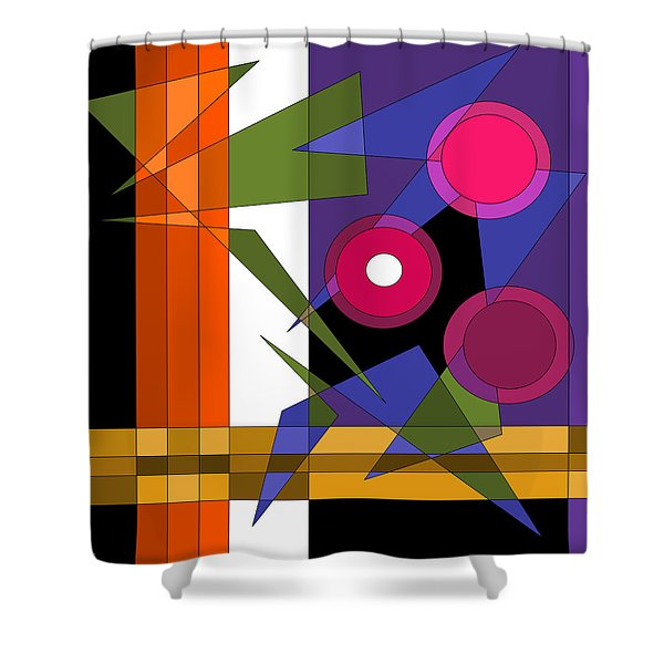 Broadway Lights Shower Curtain