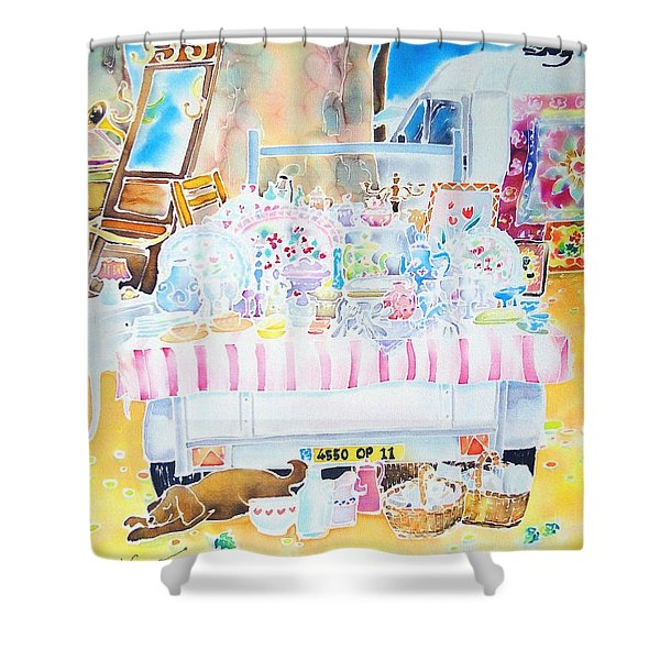 Brocante Shower Curtain