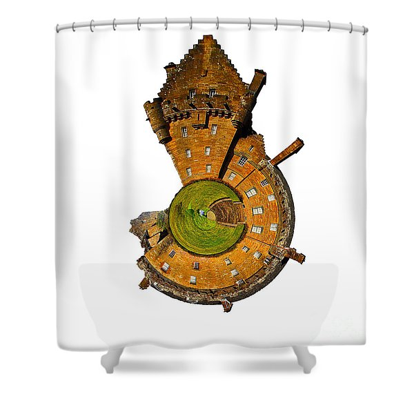 Brodick Castle Shower Curtain