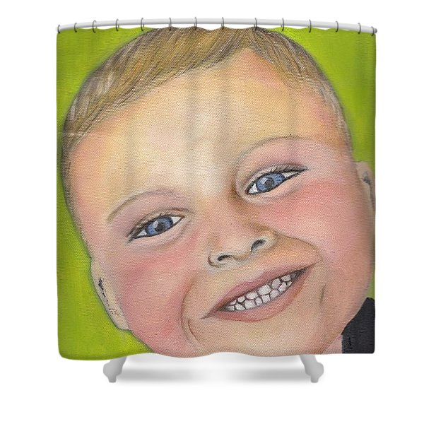 Brody's Smile Shower Curtain
