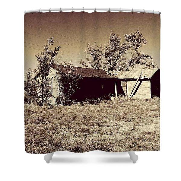 Broken Homestead Shower Curtain