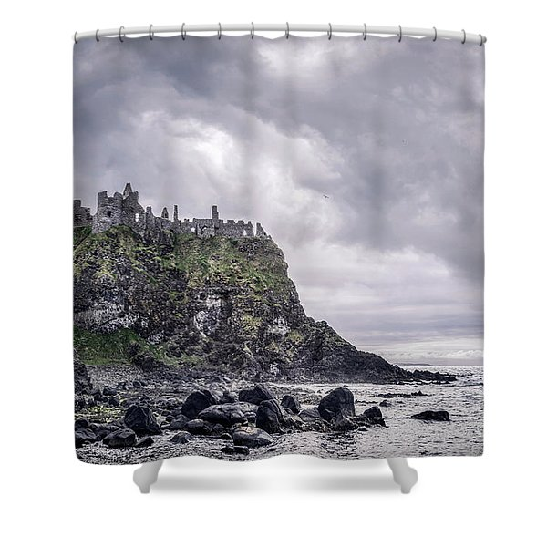 Broken Kingdom Shower Curtain
