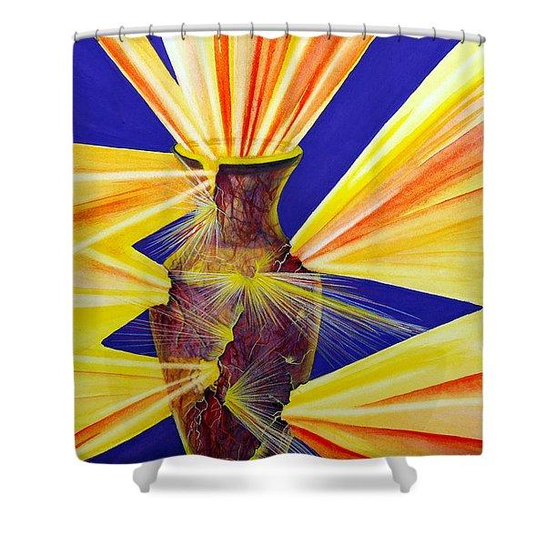 Broken Vessel Shower Curtain