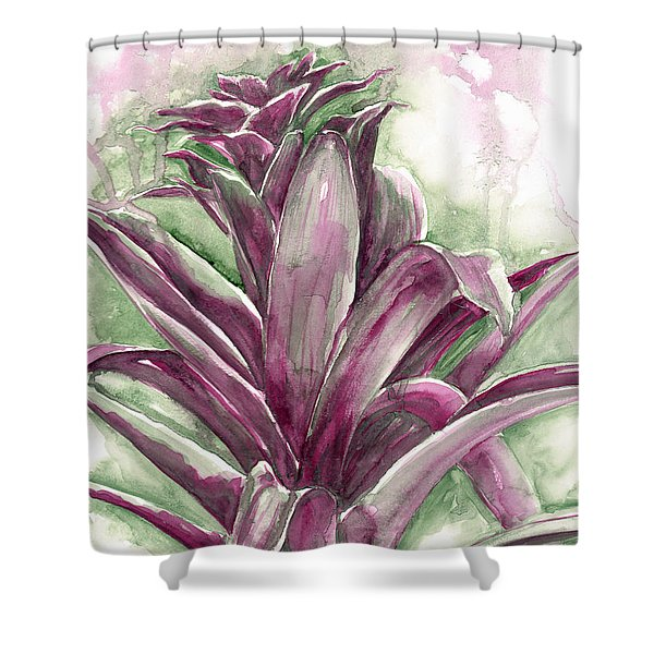 Bromeliad Shower Curtain
