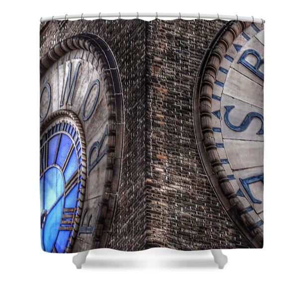 Bromo Seltzer Tower Clock Face #2 Shower Curtain