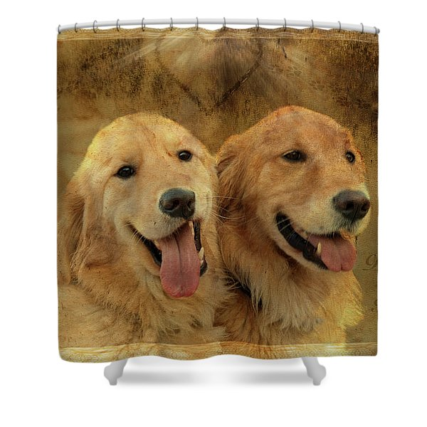 Brotherly Love Shower Curtain
