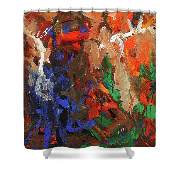 Brothers In Charm Shower Curtain