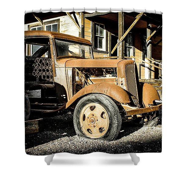 Vintage 1935 Chevrolet Shower Curtain