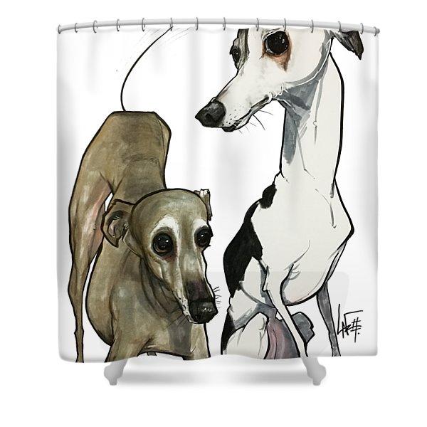 Brown 7-1512 Shower Curtain