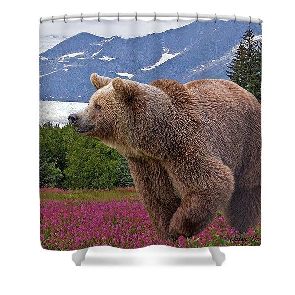 Brown Bear 2 Shower Curtain