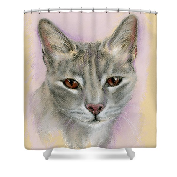Brown Eyed Girl Shower Curtain