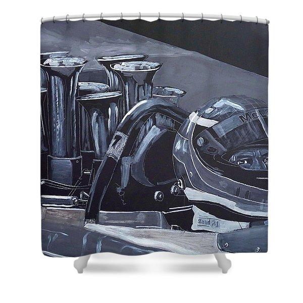 Bruce Mclaren Canam Shower Curtain